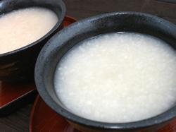 米と麹だけを使った甘酒!