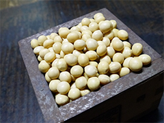 国産の大豆