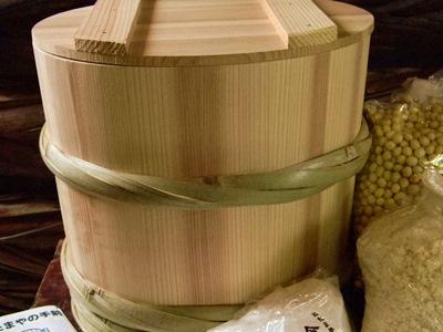 手作り味噌セット 昭和本樽仕込み No.12