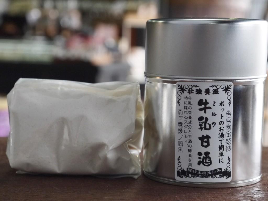 かんたん牛乳甘酒(120gブリキ缶)