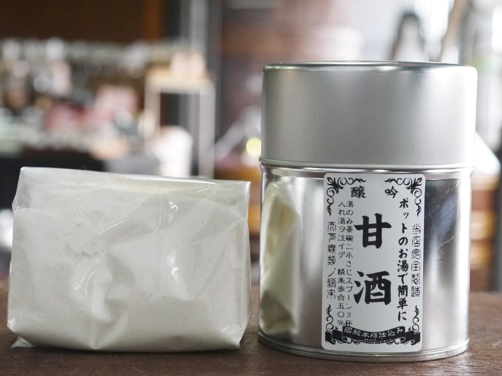 かんたん甘酒粉末(120gブリキ缶)