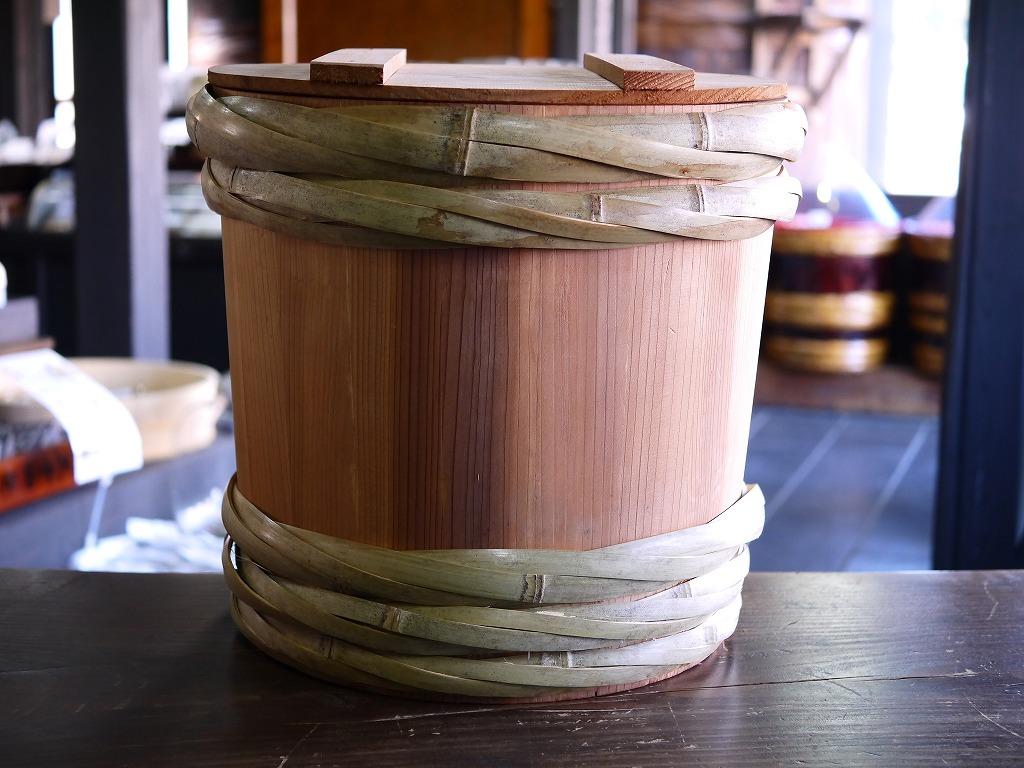 昭和本樽 杉桶 No.20(柿渋仕上げ)