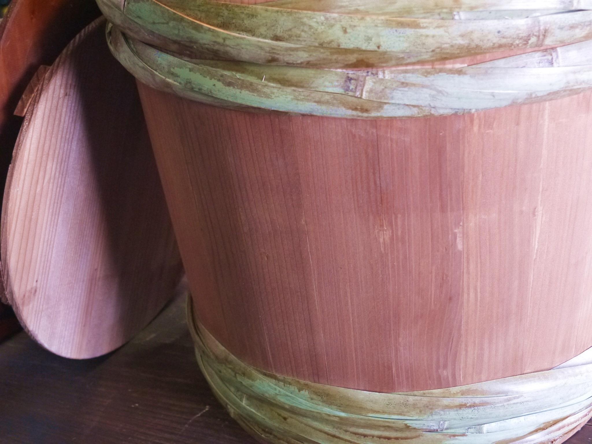 昭和本樽 杉桶 No.40(柿渋仕上げ)