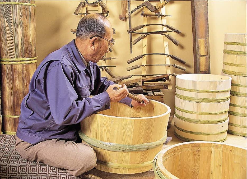 昭和本樽 杉桶 No.40