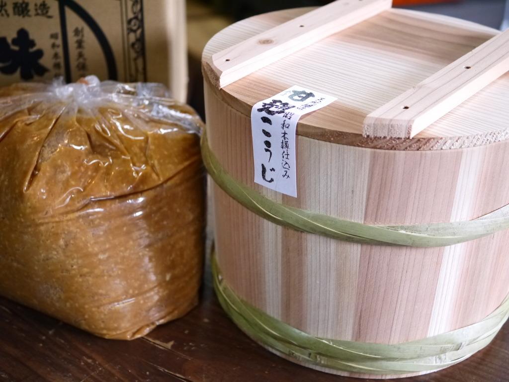 甘麹味噌 昭和本樽4kg No.7