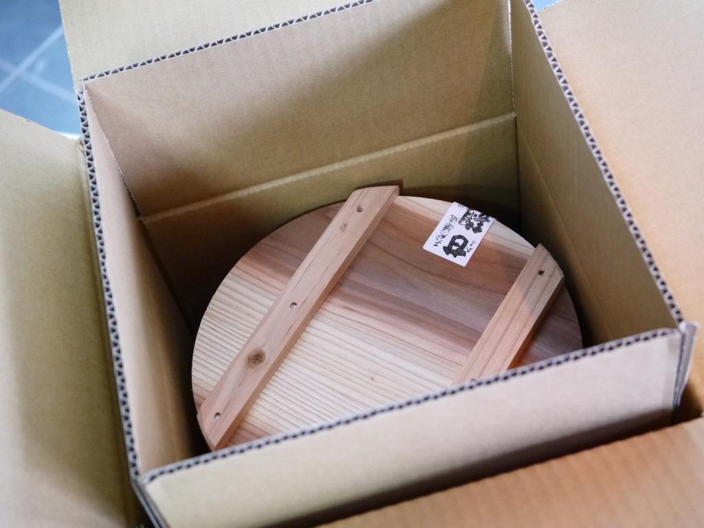 浮麹味噌(4kg昭和本樽)