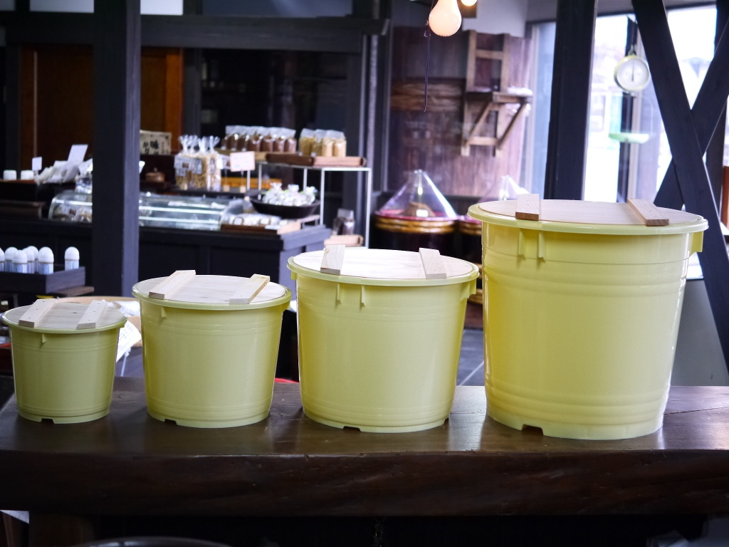味噌用ポリ樽(40kg用)