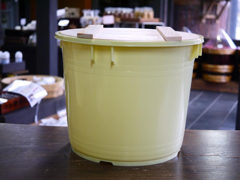 味噌用ポリ樽(20kg用)