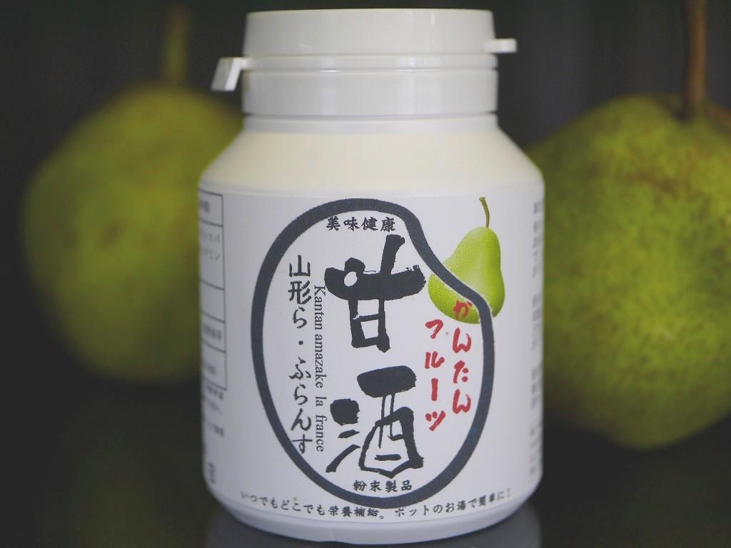 かんたんフルーツ甘酒 山形ラ・フランス(100gボトル)
