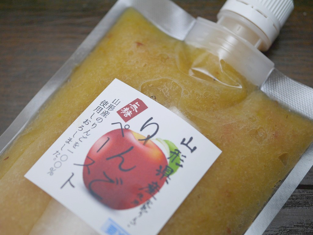生甘酒用ソース 山形りんご 無糖(350g)