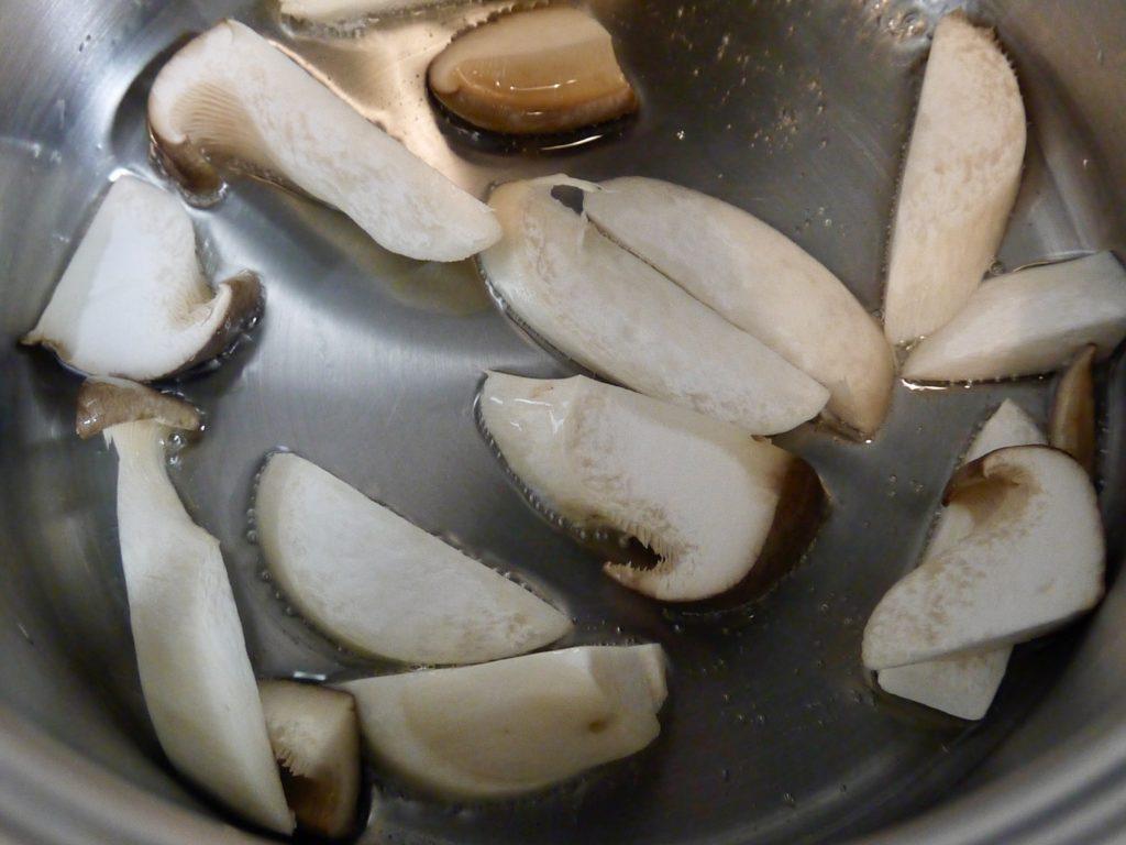 塩麹のシンプルパスタ