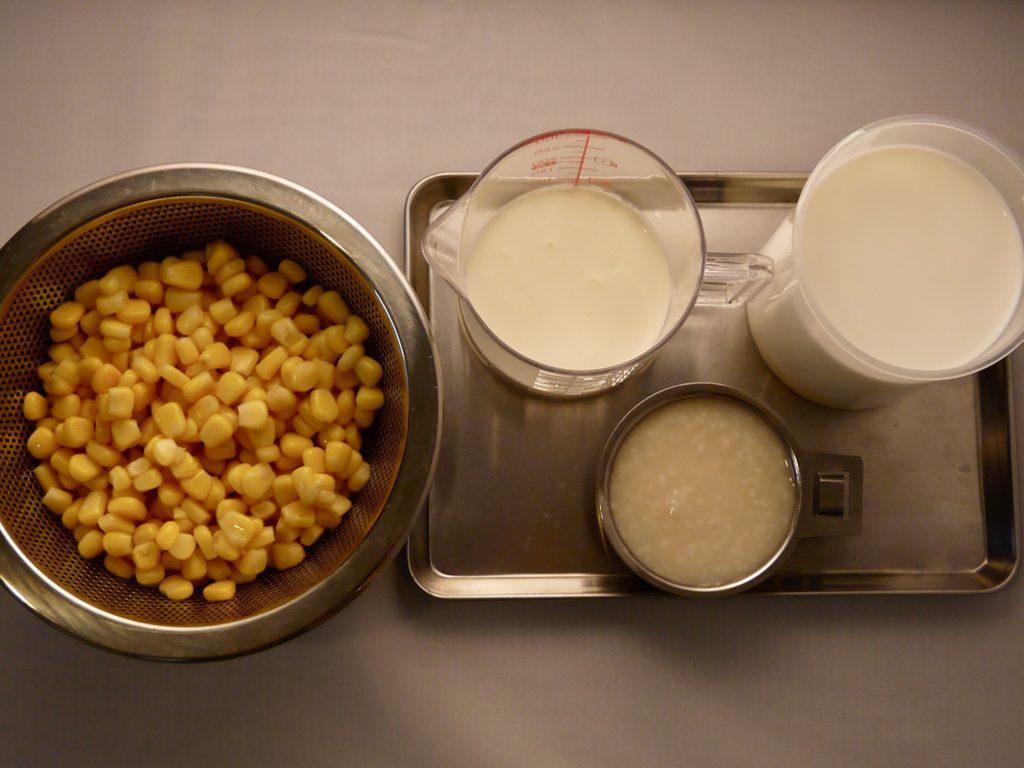 生甘酒のコーンスープ