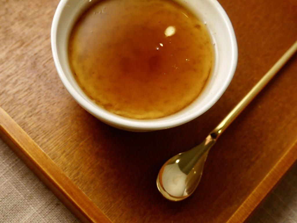 甘酒和風ぷりん(酒粕ver)