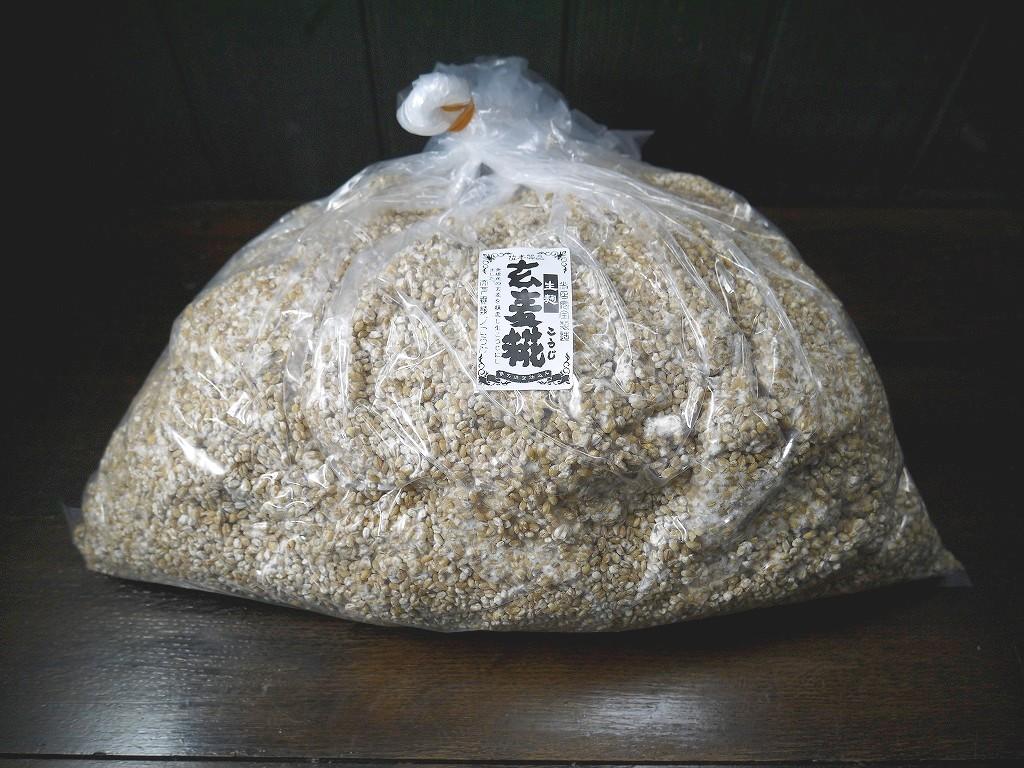 玄麦麹 生麹(5kg)