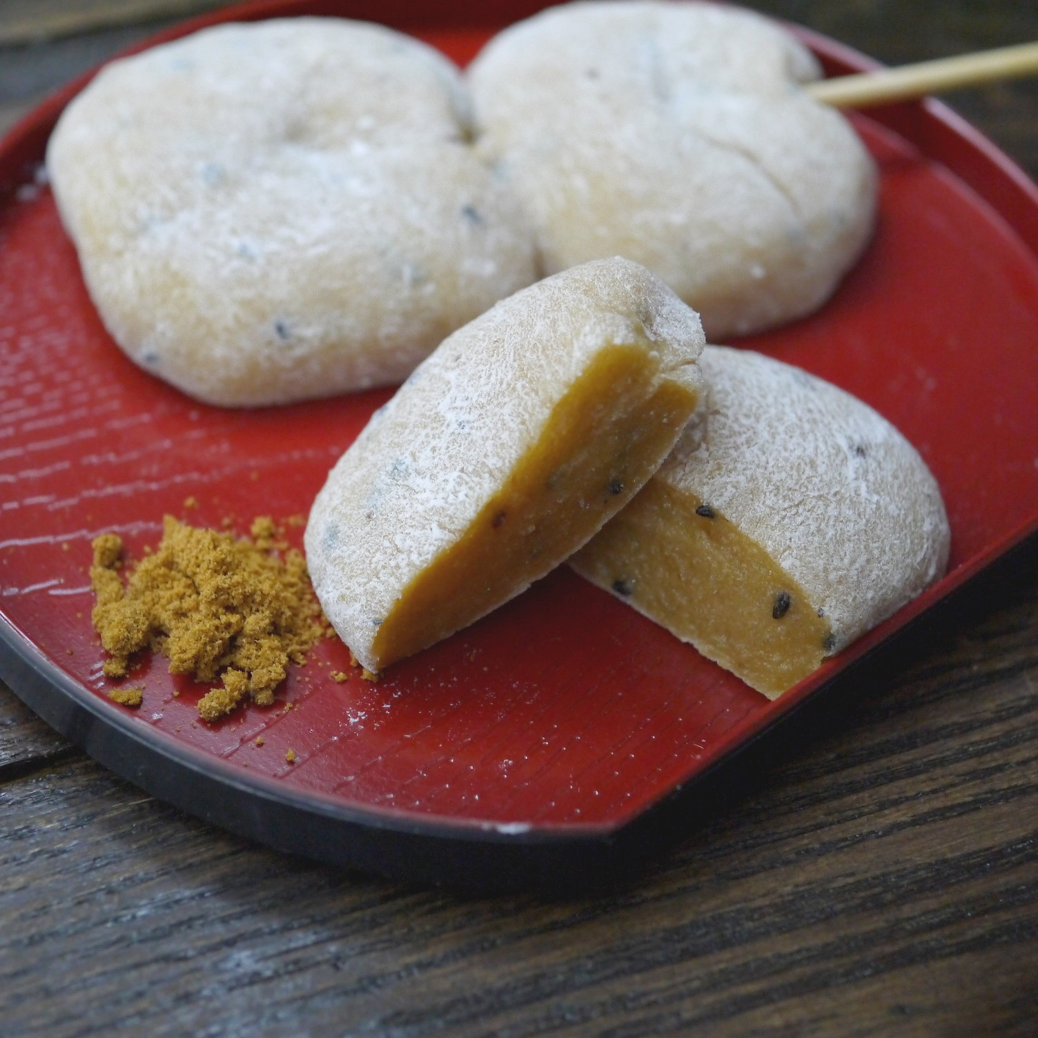 串付き 杵つき味噌チーもち  4個(2串入)