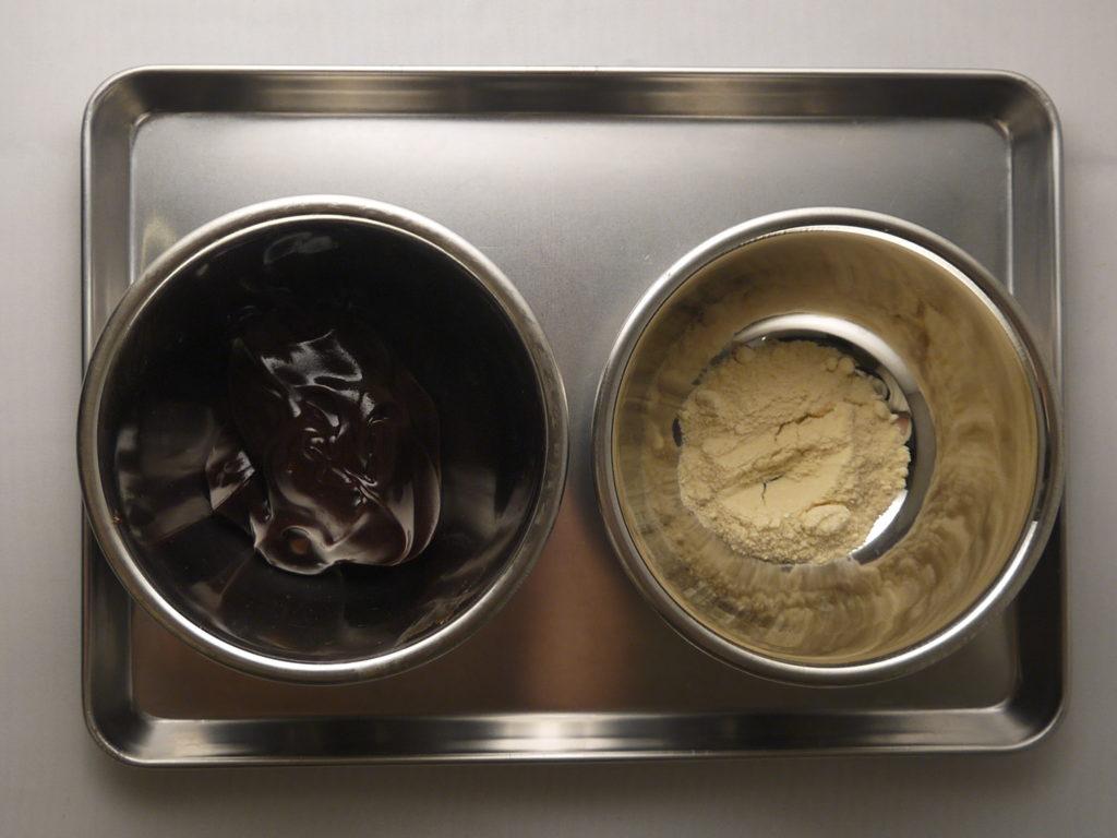 酒粕チョコクリーム