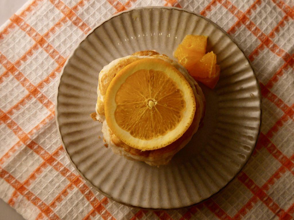 甘酒パンケーキ