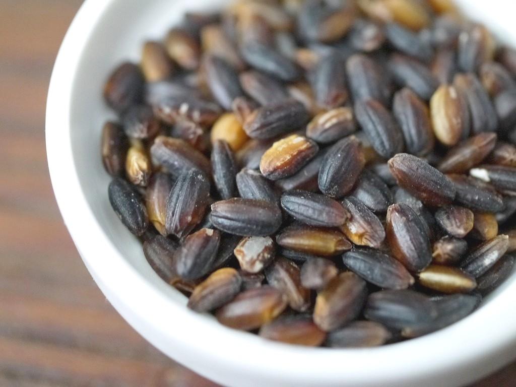 古代米 無農薬 有機肥料 黒米うるち米 奥の紫(800g)送料無料