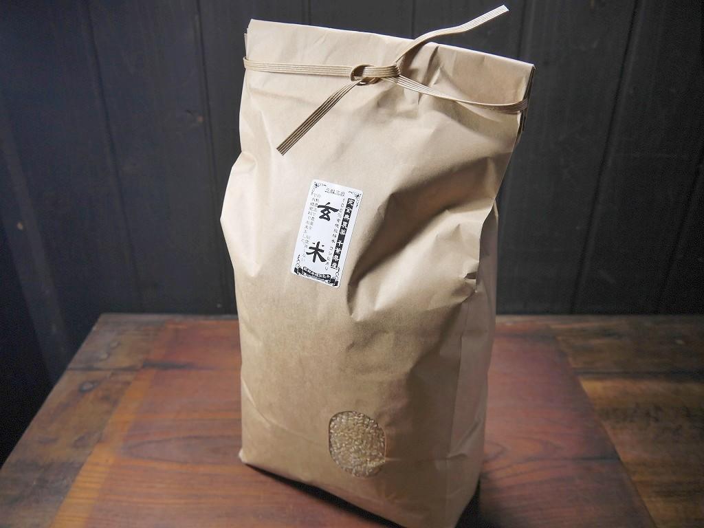 無農薬 有機肥料 令和3年産 コシヒカリ3.3升 玄米(5kg)