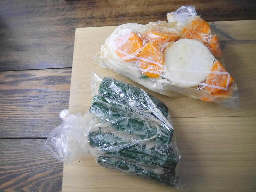 発酵『 糠八® 』で大根と人参の漬け込み