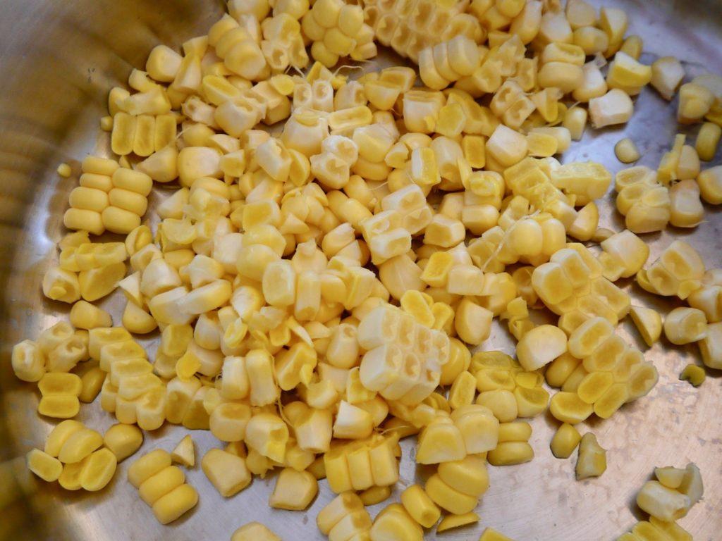 玉ねぎ麹の冷製コーンポタージュ
