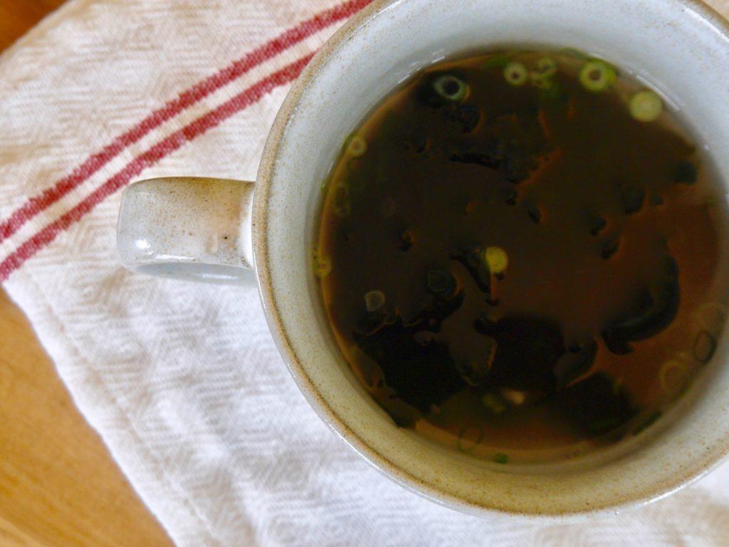 玉ねぎ麹の1分スープ